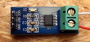 5A Strom Sensor ACS 712 mit dem Arduino auslesen | Shelvin