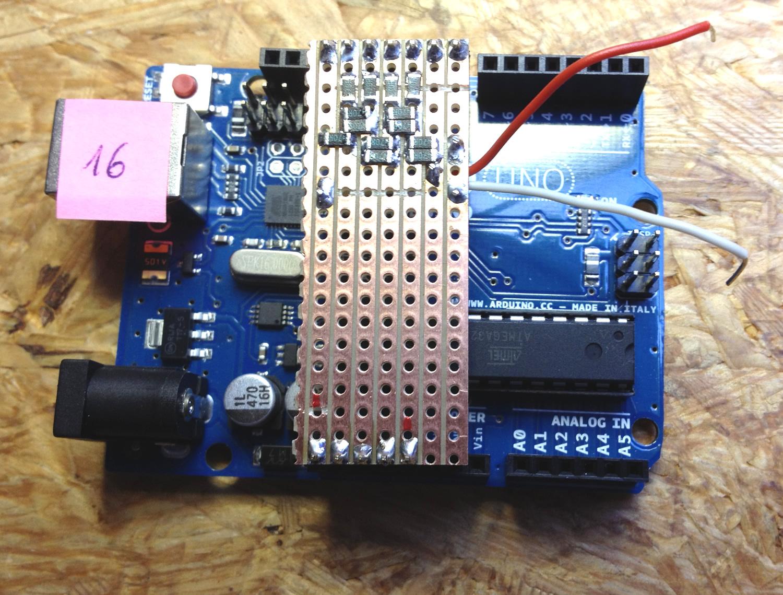 DA Wandler auf den Arduino Uno