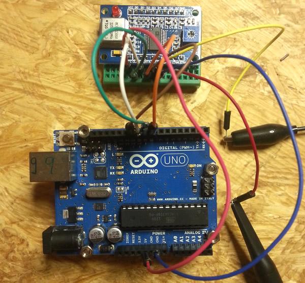 DDS AD9850 mit dem Arduino Uno