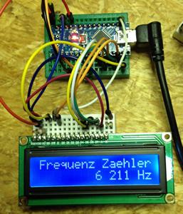 Arduino Nano Frequenzzaehler