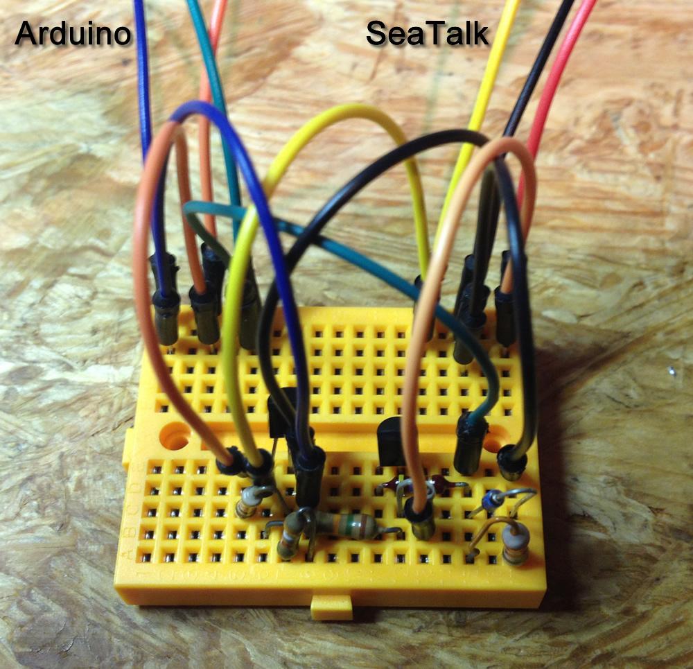 Seatalk Arduino Schnittstelle