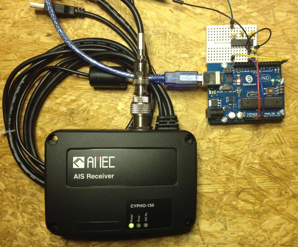 Cypho-150 und Arduino