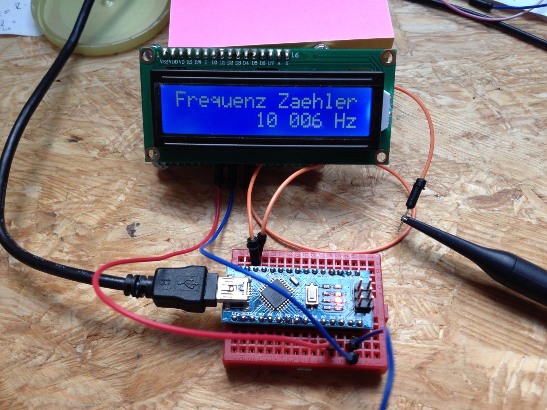 Rechteckgenerator Arduino
