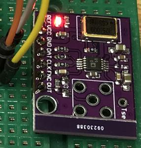 AD9833 Frequenzgenerator mit dem Arduino programmiert und vermessen